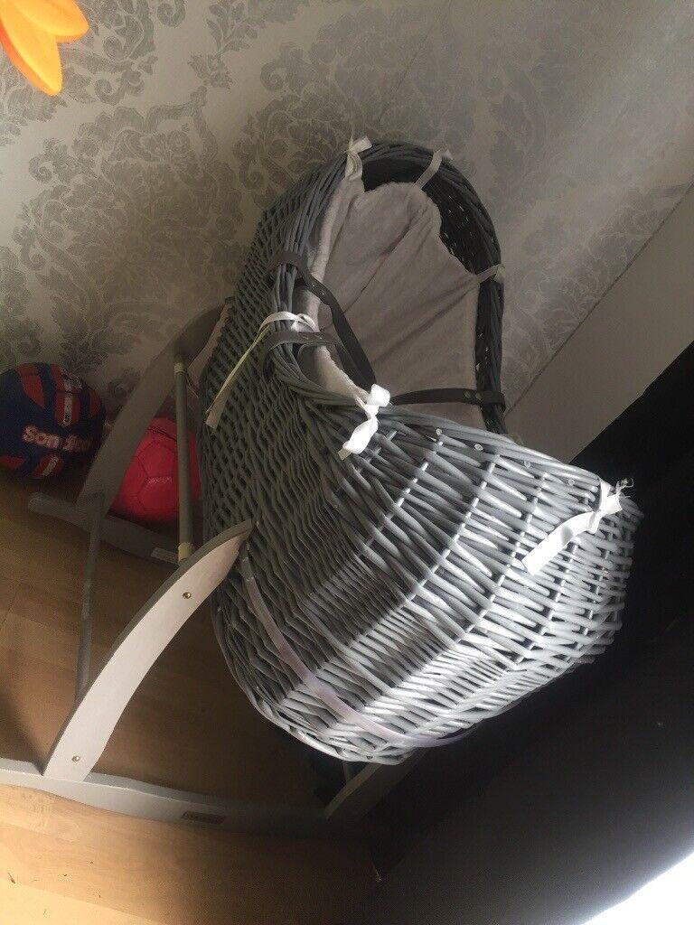 regarder 3aaee 3f0df Grey Clair de lunar Noah basket £30ono | in Bulwell, Nottinghamshire |  Gumtree