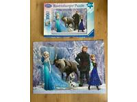 100 piece Disney Frozen jigsaw