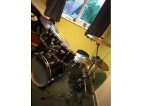 PowerBeat Drum Kit (Like CB, Mapex and Pearl) w/ Zildjian Cymbals
