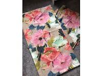 NEXT Curtains ~ multi coloured ~ 117x229cm