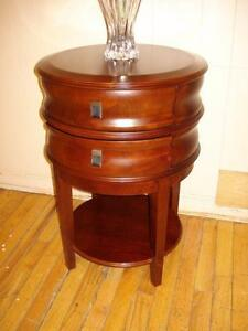 Lovely Bombay Accent Table