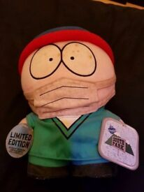South Park Dr Stan Plush Toy With Tags 1998