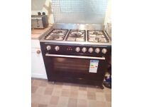 Range cooker used only 1 year. Very good condition.
