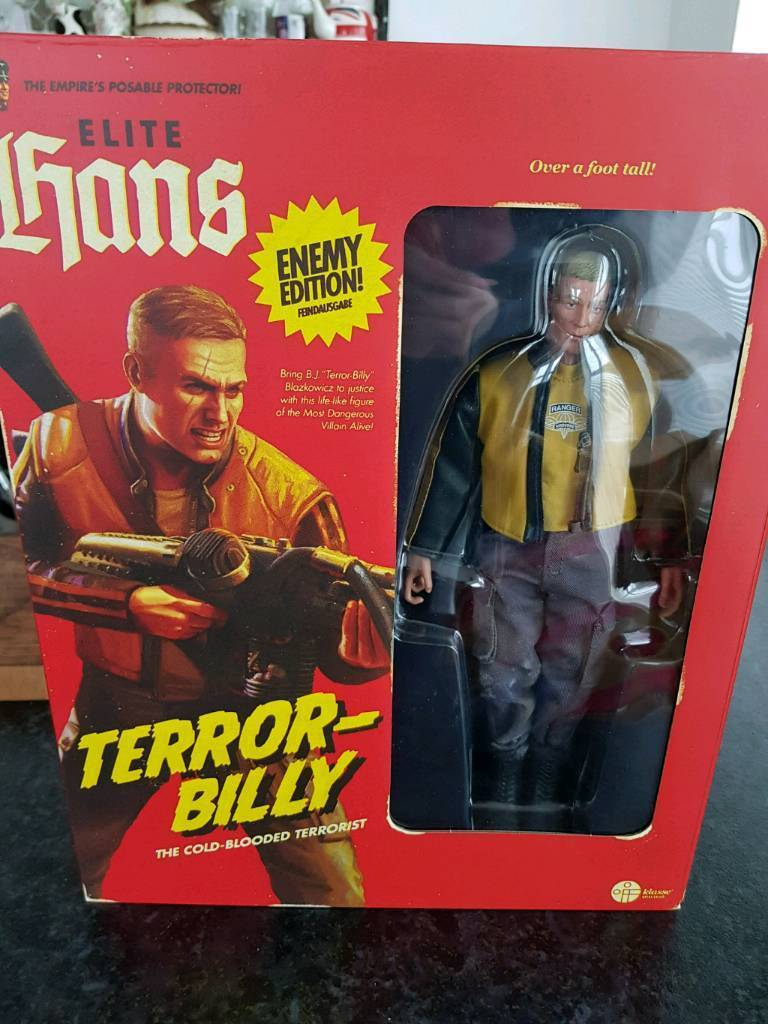Wolfenstein I l Collector's Edition Terror Billy Figure