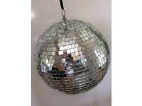 Extra Large Disco Party DJ Mirror Ball 30cm RRP £45