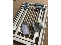 Narrow child pet stair safety gate
