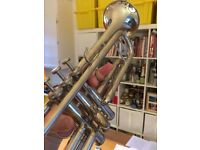 Trumpet / Weril Master / Silver plated / Very good working order