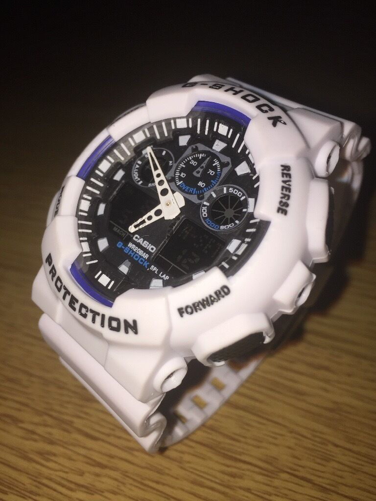 Casio GShck 5081 GA 100 (Whitein London Bridge, LondonGumtree - Hey Guys! Brand new Casio watch for sale (White). It comes along with a case as well. If interested please contact me Tye