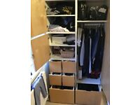 Large wardrobe bought from Ikea