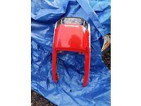 Honda CBR1000f tail piece
