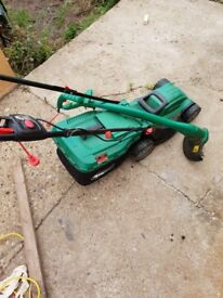 Electric Lawn Mower & Trimmer SET!