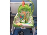 Fisher Price Newborn to toddler rocker bouncer chair