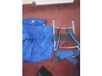 Berghaus backpack and frame