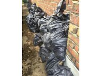 Free clean hardcore / fill - bagged & ready to collect