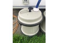 Caravan water container
