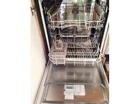 WHITE Hotpoint Dishwasher Full Size