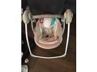 Ingenuity Portable Swing - Cozy Kingdom RRP £69.99