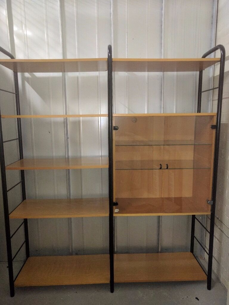ikea beech kitchen cabinets ikea niklas beech shelving unit with glass door cabinet 4417