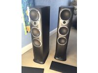 Pair of Mission M35 floorstanding speakers - superb quality