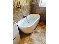 Experienced bathroom fitter & tiler