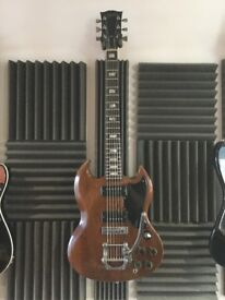 Vintage original 1973 Gibson SG Special with factory Tremolo and case - collectors relic guitar!