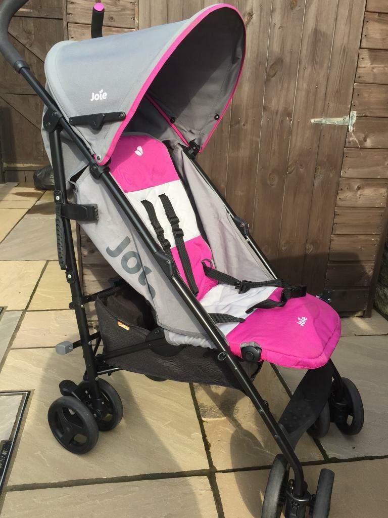 mothercare joie nitro charcoal pink pushchair pram foot muff and raincover in cleckheaton. Black Bedroom Furniture Sets. Home Design Ideas