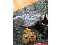 Assortment of build a bear outfits