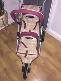 Mamas & Papas twin pushchair kids toy