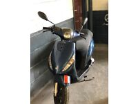 Piaggio Zip Moped, Blue, 50CC, 2013 (63 reg), 2 previous owners.