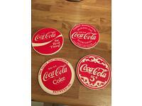 Coca Cola ceramic coasters (4)