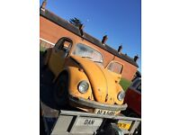 VW CLASSIC BEETLE BARN FIND 48000 MILES