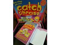 Catchphrase boardgame