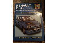 Renault Clio Haynes manual 1998-2001