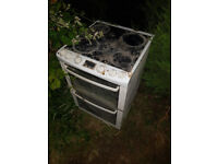 double free standing electric oven free to collector