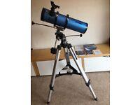 Telescope : Sky Watcher Explorer - 130 (EQ2)