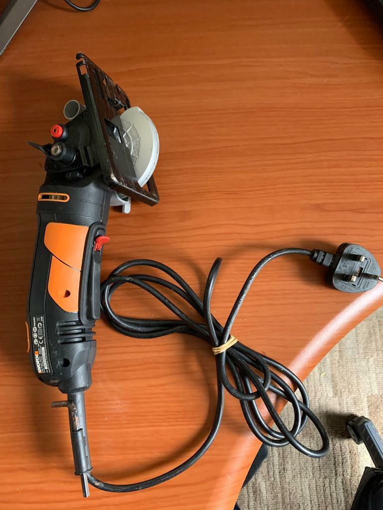 *NEW* Worx WX423 85mm 400W Compact Circular Saw Worxsaw