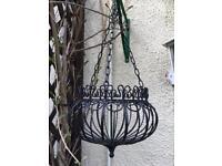Beautiful Heavy Quality Garden Hanging Basket.