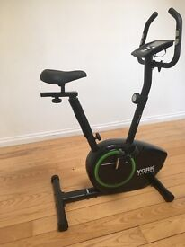 York exercise bike 110 active new used once,