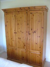 Solid Pinewood Bedroom Furniture.