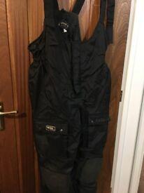 Armoured padded Motorcycle Bike Waterproof Trousers XXL by Lewis suit 40 42 44