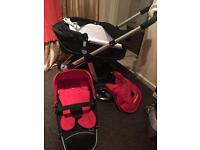 ICandy Apple pram and pushchair RRP £700 excellent condition