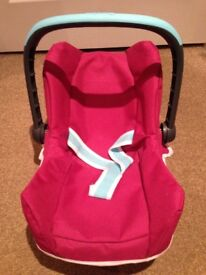 Lovely baby doll carrier
