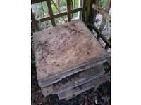 21 patio slabs