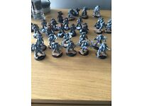 Warhammer 40/30k space wolves army