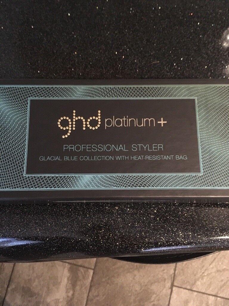 GHD platinum + Glacial blue (brand new)  c2b30773b8