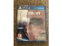 Detroit Become Human - PS4 Game *Brand New + Sealed*