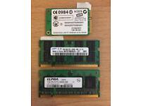 HP Laptop Memory and Wi-fi cards
