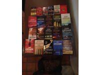 21 John Grishm books in a variety of Hard back/softback