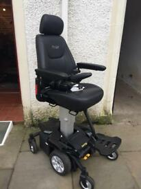Electric Wheelchair With Riser