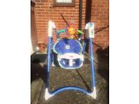 Fischer price mobile swing chair